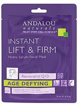 Andalou Naturals Instant Lift & Firm Hydro Serum Facial Mask, 0.6 Fluid Ounce