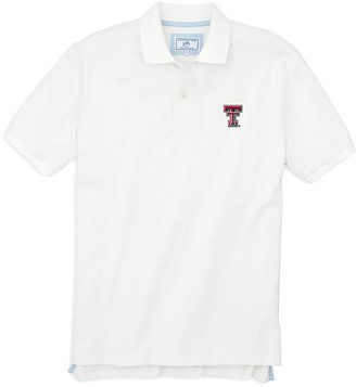 Southern Tide Texas Tech Pique Polo Shirt
