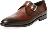 Antonio Maurizi Men's Leather Monkstrap Shoe