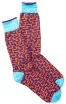 Jared Lang Maze Crew Socks