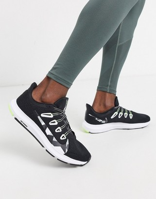 Nike Running Quest sneakers in black