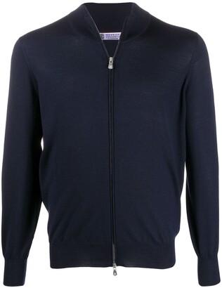 Brunello Cucinelli High-Neck Zip-Through Sweater