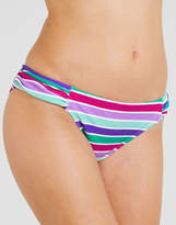 Just Peachy By Figleaves.com Berry Mojito Ruched Side Brief