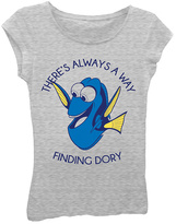 Freeze Heather Gray 'Finding Dory' Tee - Girls