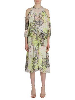 Opening Ceremony Floral Print Midi Dress