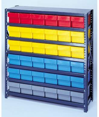 Quantum Storage Open Shelving Storage System with Euro Drawers Quantum Storage Bin Color: Blue