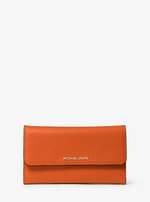 MICHAEL Michael Kors Tri-Fold Leather Wallet