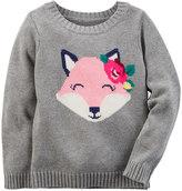 Carter's Baby Girl Animal Sweater
