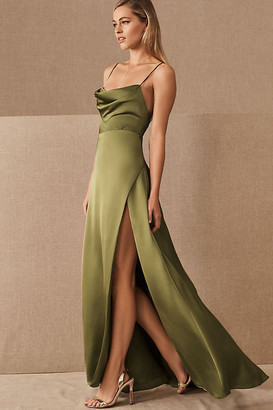 Fame & Partners Rosabel Dress By in Green Size 12