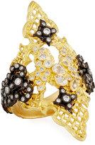 Armenta Old World Diamond Cravelli Saddle Ring, Size 6.5