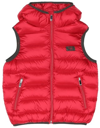 Il Gufo Quilted down vest