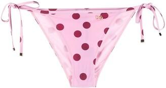 Dolce & Gabbana Polka Dot Bikini Bottoms