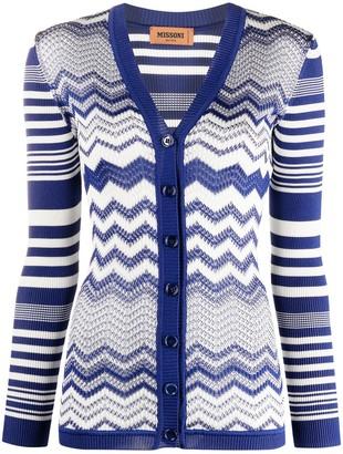Missoni Zigzag Knitted Cardigan