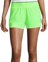 Xersion Woven Front Knit Back Shorts