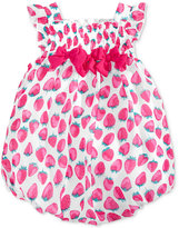 First Impressions Strawberry-Print Bubble Romper, Baby Girls (0-24 months), Only At Macy's