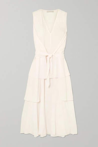 74b936e93 Stella McCartney White Silk Dresses - ShopStyle