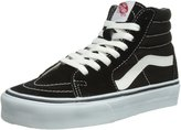 Vans Unisex Sk8-Hi Black/Black/White Skate Shoe 9 Men US / 10.5 Women US