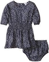 Splendid Littles Ditsy Dot 3/4 Sleeve Dress (Infant)