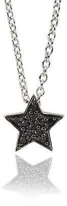 Alinka Jewellery Stasia Mini Necklace Black Diamonds