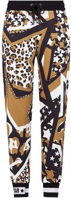 Dolce & Gabbana Millenials star print track pants
