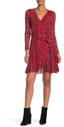 Sanctuary Emma Cheetah Print Wrap Dress