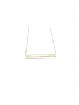 Alternative Polaris Rectangle Necklace