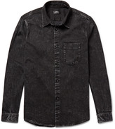 A.p.c. - Victor Slim-fit Washed-denim Shirt