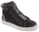 Mossimo Women's Sara High Top Velvet Sneakers