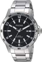 Pulsar Men's PH9101X Analog Display Japanese Quartz Silver Watch