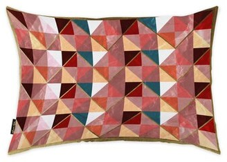 Oliver Gal Geometric Lumbar Pillow
