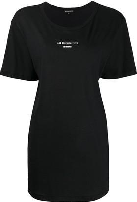 Ann Demeulemeester logo print T-shirt