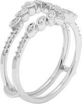 MODERN BRIDE Womens 1/6 CT. T.W. White Diamond 14K Gold Ring Enhancer