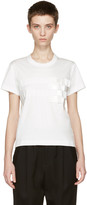 Noir Kei Ninomiya White Tape T-shirt