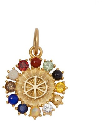 Foundrae Miniature Aether Element Medallion - Yellow Gold