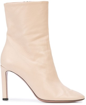 Oscar de la Renta High Heel Ankle Boots