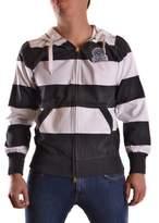 Franklin & Marshall Men's Black Cotton Sweatshirt.