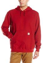 Carhartt Men's Signature Sleeve Logo Midweight Hooded Sweatshirt K288