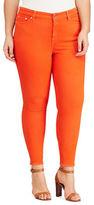 Lauren Ralph Lauren Plus Premier Skinny Ankle Jeans