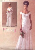 Mccall's MCCALLS PATTERN M4714 MISSES?MISS PETITE LINED BRIDAL GOWNS SIZE CCD 10-16