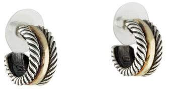 David Yurman Cable Collectibles Hoop Earrings