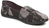 Charcoal Camouflage Slip-On Sneaker