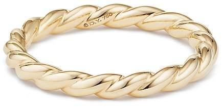 David Yurman Paveflex Ring in 18K Gold