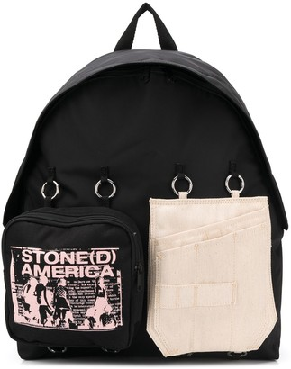 Eastpak Stone(d) America print backpack