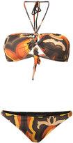 OSKLEN 70's Pine bikini set - women - Polyamide/Spandex/Elastane - P