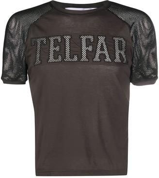 Telfar mesh panel T-shirt