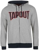 Tapout Mens Zip Hoodie Hoody Hooded Top Long Sleeve Drawstring Elasticated Cuffs