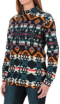 Woolrich Keystone Printed Chamois Shirt - Long Sleeve (For Women)
