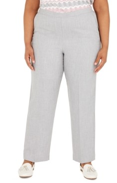 Alfred Dunner Plus Size Primrose Garden Pull On Pants