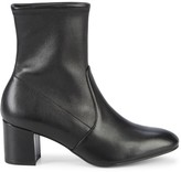Stuart Weitzman Siggy Stretch Leather Booties