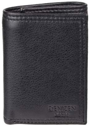 Levi's DENIZEN from DENIZEN® from Men's RFID Trifold with Zipper Pocket Wallet - Black